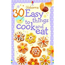 30 Easy Things to Make and Cook (Usborne Cookery Cards) by Rebecca Gilpin (2007-02-23)