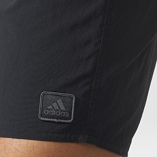adidas Herren Basic Badeshorts Black/Dark Grey