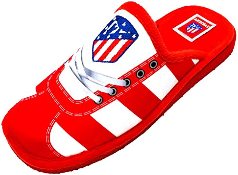 Zapatillas ATLÉTICO MADRID Andar en Casa Cordones -