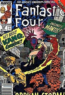 Fantastic Four #323 (Volume 1)