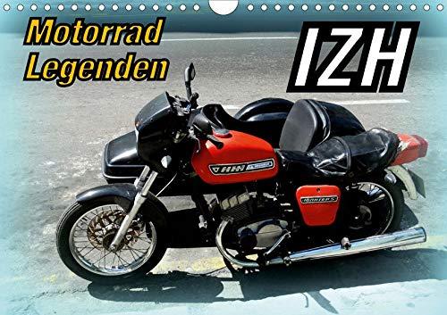 Motorrad-Legenden: IZH (Wandkalender 2020 DIN A4 quer): Russische  Motorräder der Marke IZH auf Kuba (Monatskalender, 14 Seiten )