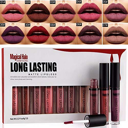 Rouge à lèvre mat longue tenue