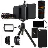 Nehmen Sie fantastische Bilder auf, wo immer sie auch sind Das CamKix 4-in-1-Objektiv-Set ist ein Fotografie Kraftwerk im Taschenformat. Ausgestattet mit vier verschiedenen Objektiven um ihre Handy-Fotos zu verbessern. Sie haben immer das richtige Ob...