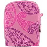 Trendz Etui pour appareil photo numérique - Paisley/rose