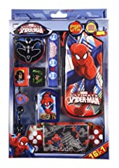 Idea Regalo - Indeca PW008 KIT 16 Spiderman Ultimate Pack accessori