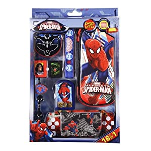 Spiderman Ultimate Zubehör Set 16 in 1 für Sony PSP/ PSVita