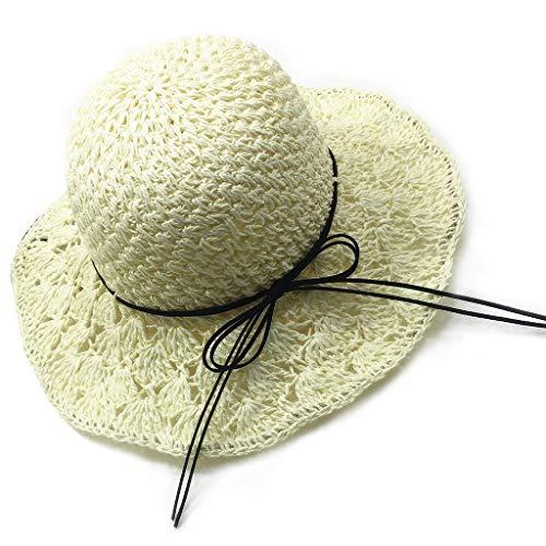 JSMH Hats Damen Sonnenhut weiß
