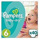 Pampers Baby Dry Windeln, Gr. 6 (ab 15 kg), 1er Pack (1 x 40 Stück)