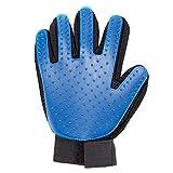 Tierhaar-Handschuh Haustier Massagehandschuh Fell Haarentferner Fellpflegehandschuh rechte Hand