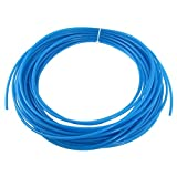 uxcell Blue 19 Meters 62.3ft 4mm x 2.5mm...