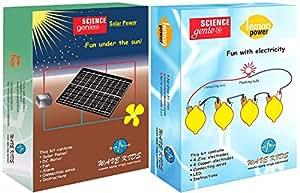 WAVEKIDS Solar Power And Lemon Power - Do It Yourself Science Combo Kit