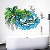LWPCP 3D Tridimensional Roto Decorativos Pegatinas De Pared Home Art Decorativos De Fondo Pintura...
