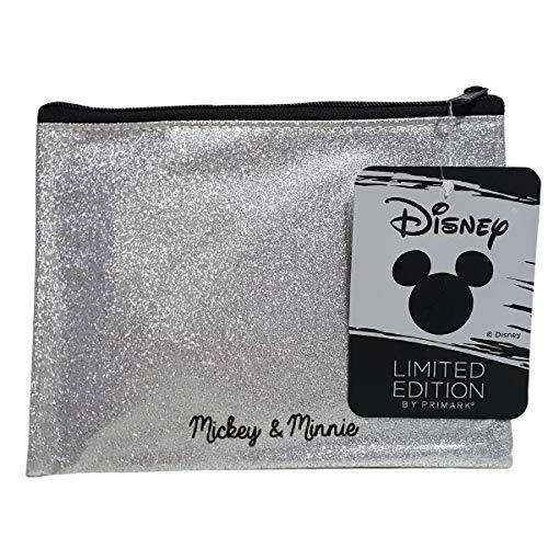 cc252c7557 Disney Mickey   Minnie astuccio cancelleria argento brillante edizione  limitata Primark