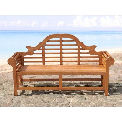 3-Sitzer Gartenbank Marlboro aus Akazienholz Farbe: Dunkelbraun