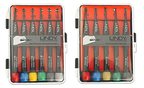 LINDY Präzisions Schraubendreher-Set + Präzisions Torx-Set