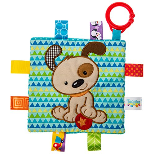Mary Meyer 40173Taggies Crinkle me Baby Spielzeug, Brother Puppy