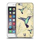 Head Case Designs Kolibri Bird Prints Soft Gel Hülle für Apple iPhone 6 Plus / 6s Plus