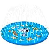 SZSMD Sprinkler Kinder, Wasserspielzeug Kinder Pool, 170CM Sprinkler und Spritz Wasserspielzeug...