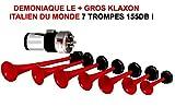 Unbekannt Das größte Cucaracha Welt. Hupe Italienisch Tour de France 7Frau 12V 155dB. RAID Preparation 4x 4