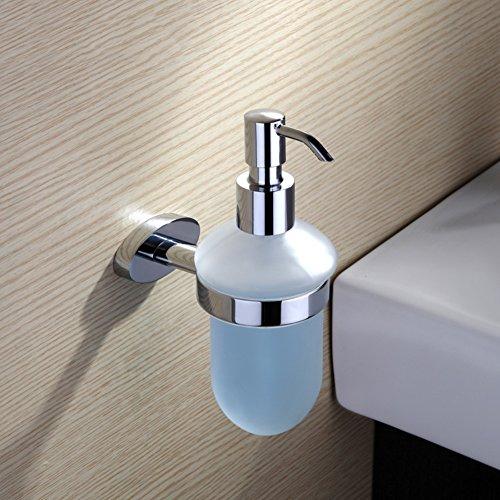 Usato, Erogatore di sapone,Montaggio a parete,Bicchiere Doccia usato  Spedito ovunque in Italia