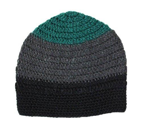 BMC Headwear - Bonnet Long - 2 Coloris - Homme ou Femme The Gloze - Noir-Charc-Emeraude