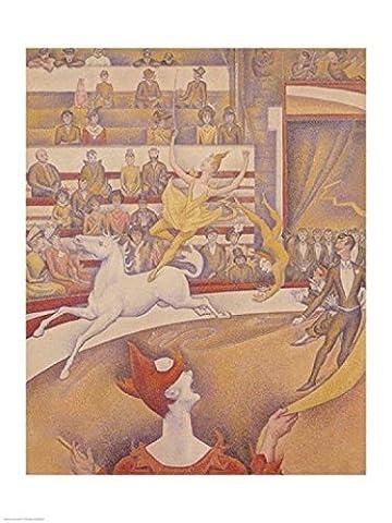 Georges Seurat – The Circus 1891 Fine Art Print (60.96 x 91.44 cm)