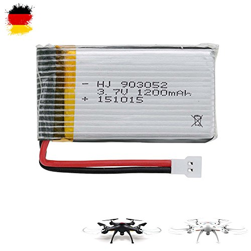 HSP Himoto 1200mAh 3.7V Power original Upgrade-Akku für Syma X5SC, X5SW Quadcopter