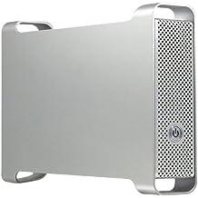 Macally G-S350SUAB - Caja de disco duro (FireWire 400, FireWire 800, indicadores LED, USB), plateado
