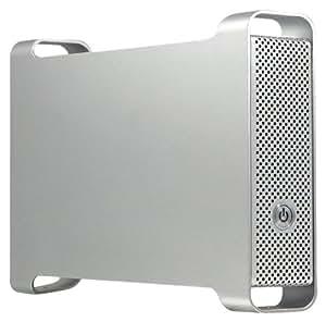 Macally G S 350 SUA Gehäuse für 8,9 cm (3,5 Zoll) Laufwerk eS-ATA/USB 2.0/FireWire silber