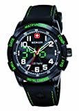 Wenger Herren-Armbanduhr XL Analog - Digital Quarz Silikon 70433