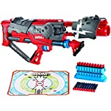 Boomco Toy - Rapid Madness Blaster - Includes 30 Darts and Gun Clip - 50 Feet Range