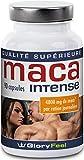 Maca Intensive - supplément pour les hommes et les femmes actifs - haut concentré d'extrait de racinede maca root et de vitamines - 90 capsules de maca poudre