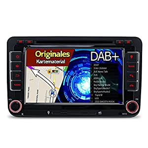 a sure 7 2 din dab autoradio navi dvd gps bt. Black Bedroom Furniture Sets. Home Design Ideas
