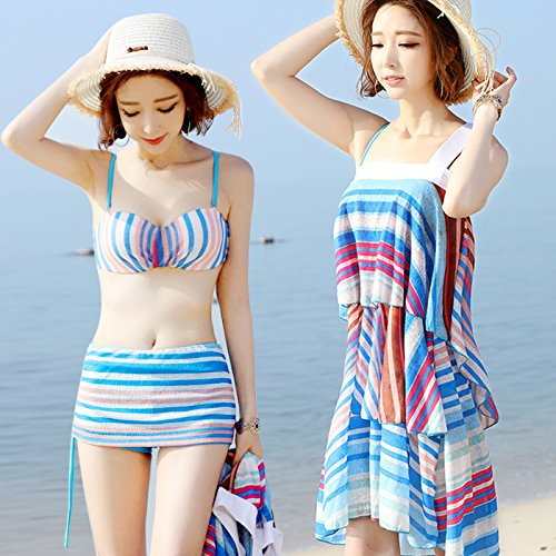 zhangyongswimming-suit-female-bikini-sexy-3-piece-small-particles-of-chest-and-flat-steel-spring-bat