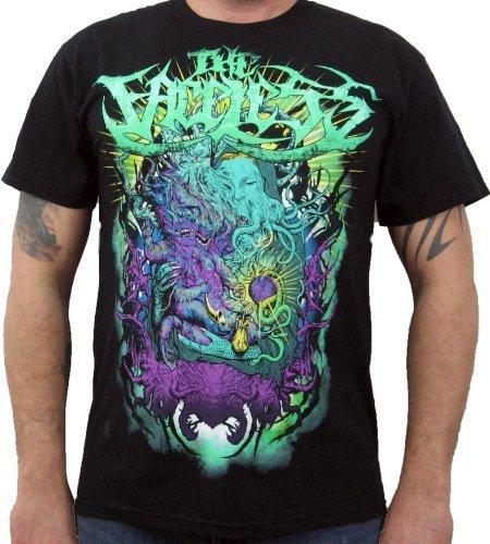 Hardcore Apparel Uomo The Faceless Prophet Of Contamination T-Shirt Nero-Me...