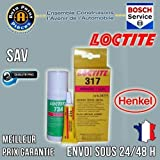 LOCTITE 317 Kit colle Verre Metal Gamme PRO