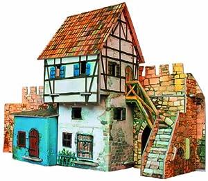 CLEVER PAPER- Puzzles 3D Casa muralla (14250)