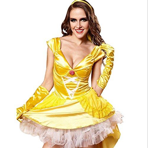 Robe Kostüm Queen (XR&ZH Queen Fitted Cosplay Kleidung Spiel Uniformen Prinzessin)