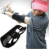 Dioche Entrenador de Swing de Golf, Práctica Recta Golf Swing Trainer Herramienta de Corrección de Swing de Alarma de Codo para la Corrección de la Postura de Golf