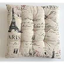 Impreso corbata de cuadros escoceses para asiento de silla (algodón para comedor cocina jardín silla cojín