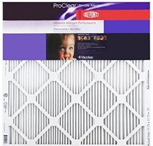 24x24x1 DuPont ProClear Ultimate Allergen Electrostatic Air Filter