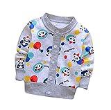 Baby Girl Cardigan Cardigan para Niños Otoño Jersey Cardigan Sweater Cardigan De Cuello Redondo Sweater Autumn Coat