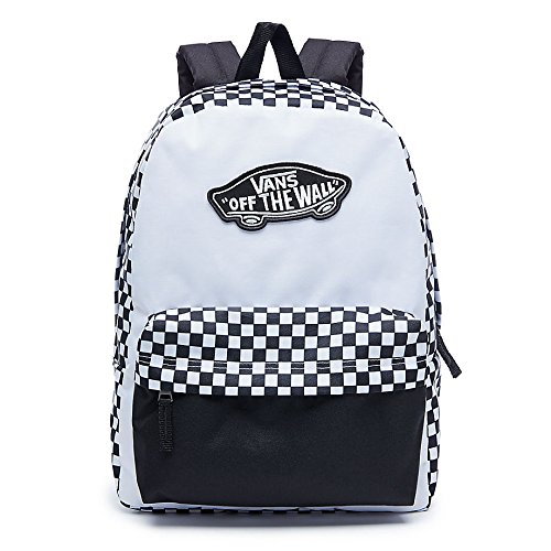 Vans Sac à dos loisir, Black White Checkerboard (Noir)...