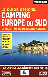 Le Guide officiel Camping Europe du Sud 2015