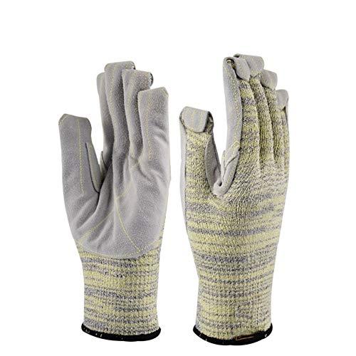 Gants résistants à la Coupe du travail résistant à l'usure résistant à la déchirure de la perforation haute température gants