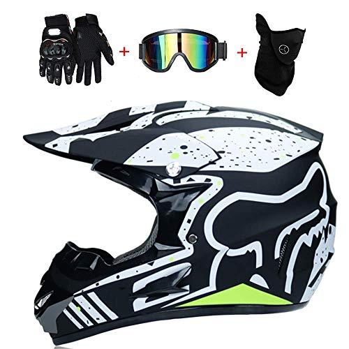 AA-Helmet TOKUV Casco Motocross Adultos