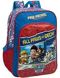 Preisvergleich für Paw Patrol 4622351 Paw on Deck Schulrucksack, Rot