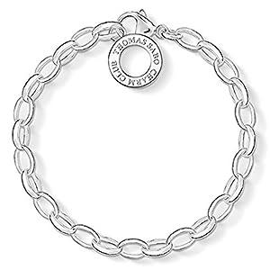 Charm-Silberarmband dünn 16 cm