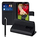 Cover Case with Video Stand Book Wallet PU Leather Flip