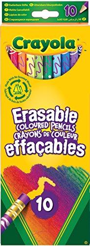 Crayola 03.3635DM - 10 Radier-Weg Buntstifte